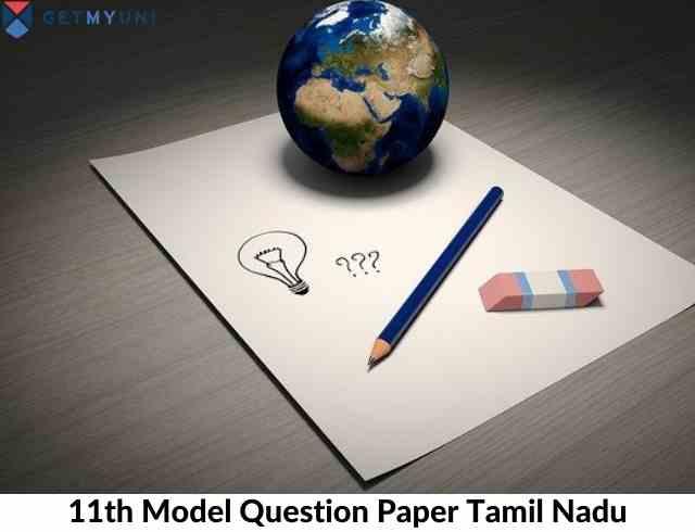 11th model question paper tamil nadu