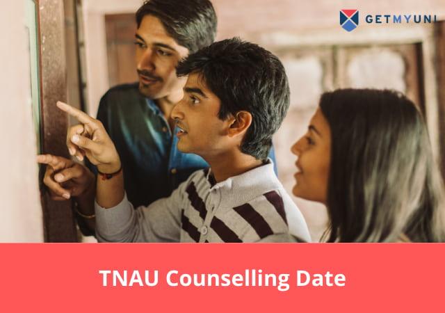 TNAU Counselling 2020-21 Date