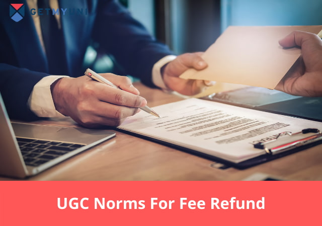UGC Norms For Fee Refund