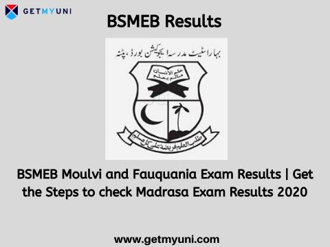BSMEB Result 2020