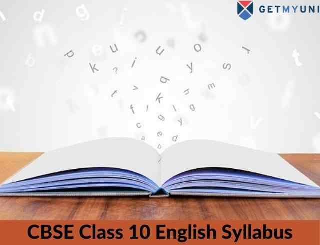 CBSE Class 10 English Syllabus 2020-21