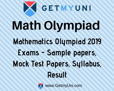 Math Olympiad 2019 Exam Dates, Papers, Sample Paper