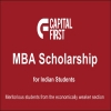 Capital First MBA Scholarship