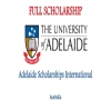 Adelaide Scholarships International