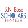 SN Bose Scholarship