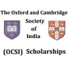 The Oxford and Cambridge Society of India Scholarship