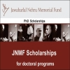Jawaharlal Nehru Scholarship for Doctoral Studies