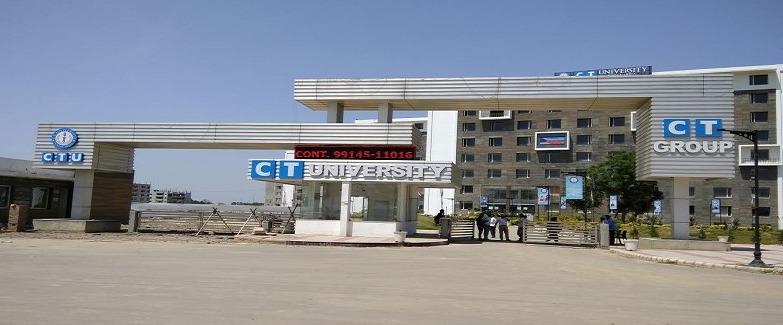 CT University, [CTU] Ludhiana - Courses, Fees, Admission