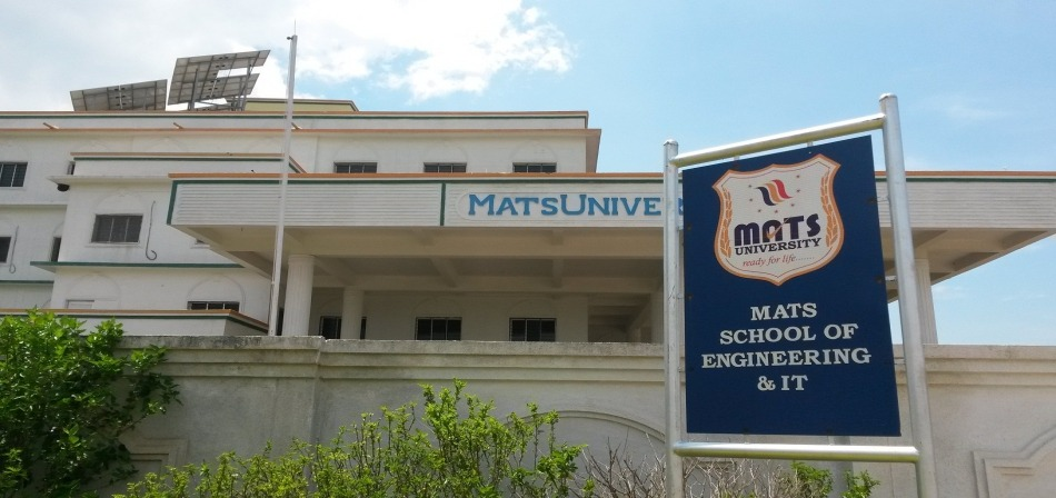 Fees Structure and Courses of MATS University, [MATSU