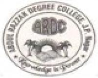 Abdul Razak Degree College, [ARDC] Jyotiba Phule Nagar logo