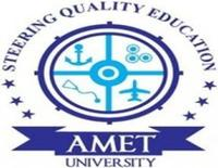 Academy of Maritime Education and Training University, [AMETU] Chennai logo