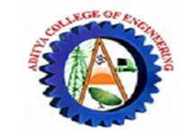 Aditya college of engineering, [ACE] Chittoor logo