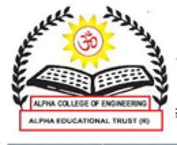Alpha College of Engineering, [ACE] Bangalore logo