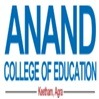 Anand College of Education, [ACE] Agra logo