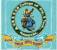 AVR and SVR College of Engineering and Technology, [AVRSVRCET] Kurnool logo