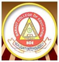 Baraut College of Education, [BCE] Bagpat logo