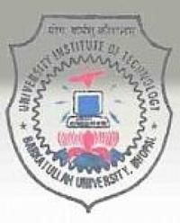 Barkatullah University Institute of Technology, [BUIT] Bhopal