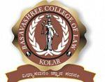 Basavashree College of Law, Kolar