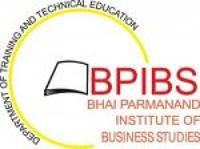 Bhai Parmanand Institute of Business Studies, [BPIBS] New Delhi