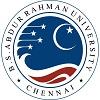 BS Abdur Rahman University, [BSARU] Chennai logo