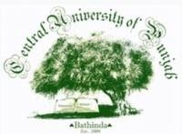 Central University of Punjab, [CUP] Bathinda logo