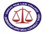 Chajju Ram College of Law, Hisar logo