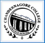 Chandernagore Government College, [CGC] Hooghly logo