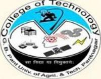 College of Technology, Pantnagar logo
