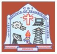 CSI Institute of Technology, [CSIIT] Kanyakumari logo