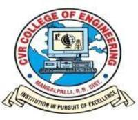 CVR College of Engineering, [CVRCE] Hyderabad logo