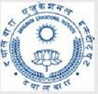 Dayalbagh Educational Institute Faculty of Engineering, Agra logo