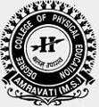 Degree college of Physical Education, [DCPE] Amravati logo