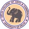 Delhi College of Arts and Commerce, [DCAC] Delhi University logo