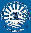 Dev Samaj College of Education, Chandigarh logo