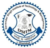 Devender Singh Institute of Technology & Management, [DSITM] Ghaziabad logo