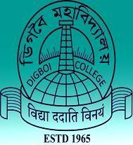 Digboi College, Dibrugarh logo