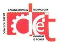 Doon College of Engineering and Technology, [DCET] Saharanpur logo
