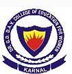Dr Ganesh Dass DAV College of Education for Women, Kaithal logo