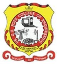 Dr GU Pope College of Engineering, [DGUPCE] Thoothukudi logo