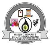 Dr. L.H.Hiranandani College Of Pharmacy, Ulhasnagar logo