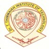Dr T Thimmaih Institute of Technology, [DTTIT] Kolar