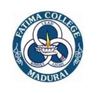 Fatima College, [FC] Madurai logo