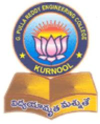 G Pulla Reddy Engineering College, [GPREC] Kurnool logo