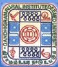 Gandhigram Rural Institute, [GRI] Dindigul logo