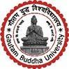 Gautam Buddha University, [GBU] Noida logo