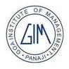 Goa Institute of Management, [GIM Goa]