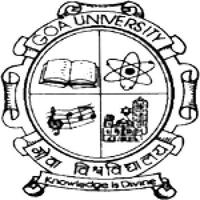 Goa University, [GU] North Goa logo