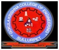 Gokula Krishna College of Engineering, [GKCE] Nellore logo