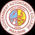 Government Autonomous College, Phulbani logo