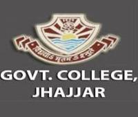 Government College, [GC] Jhajjar logo